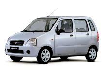 Suzuki Wagon R Plus рестайлинг, 2 поколение, 03.2003 - 10.2006, Хэтчбек 5 дв.
