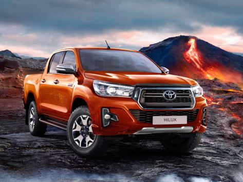 Toyota Hilux Pick Up (AN120) 11.2017 - 07.2020