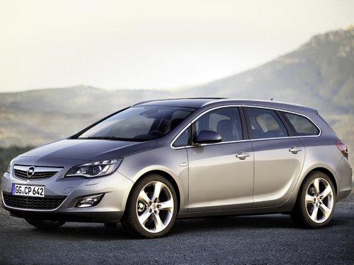 Opel Astra 2010 - 2012
