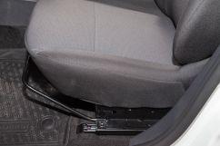 Регулировка передних сидений: в 2 направлениях