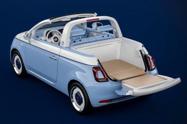 Fiat превратил модель 500 в пляжный пикап
