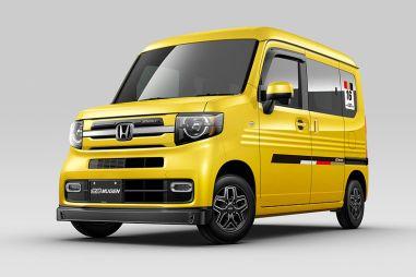Для Honda N-VAN предложили заводской тюнинг