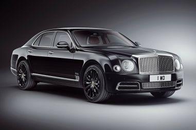 Bentley к своему 100-летию выпустила седан Mulsanne в спецкомплектации