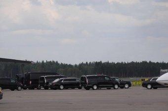 Путин еще не ездил на Аурусе за пределами Москвы.
