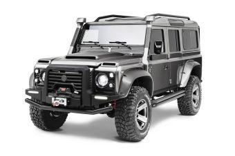 Под капотом машины установлена доработанная версия 4,5-литрового бензинового V8 Land Rover.