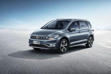 Компактвэн Volkswagen Touran получил кросс-модификацию