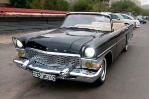 В Казахстане продают кабриолет ГАЗ-13 «Чайка» с мотором от Toyota