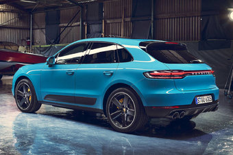 Обновленный Porsche Macan