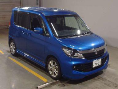 Suzuki Solio 2012 отзыв автора | Дата публикации 18.01.2018.