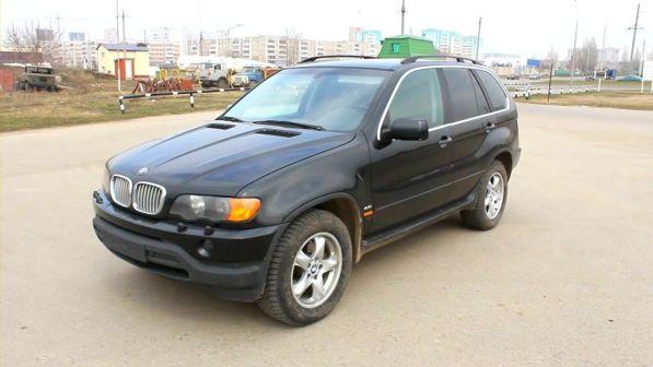 BMW X5 2002 - отзыв владельца