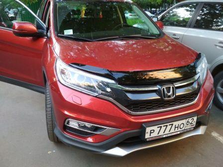 Honda CR-V 2018 - отзыв владельца