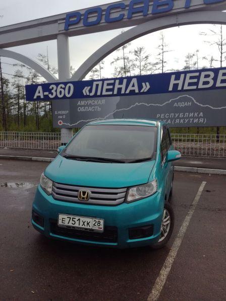 Honda Freed Spike 2013 - отзыв владельца