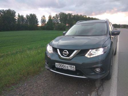 Nissan X-Trail 2017 - отзыв владельца