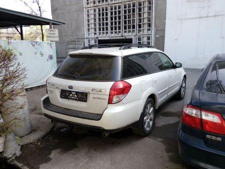 Subaru Outback 2008 - отзыв владельца
