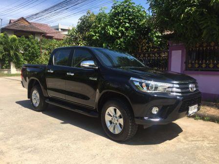 Toyota Hilux Pick Up 2017 - отзыв владельца