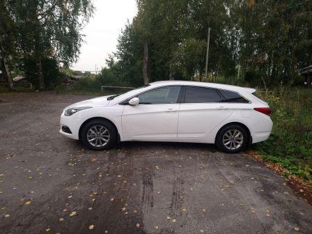 Hyundai i40 2017 - отзыв владельца