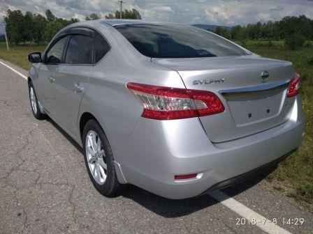 Nissan Sylphy 2013 - отзыв владельца