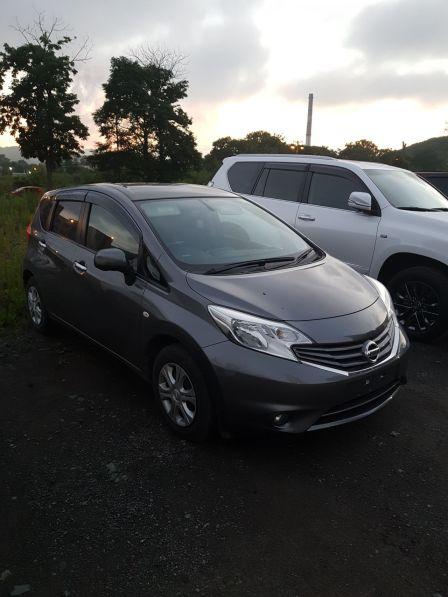 Nissan Note 2013 - отзыв владельца