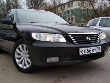 Hyundai Grandeur 2008 - отзыв владельца