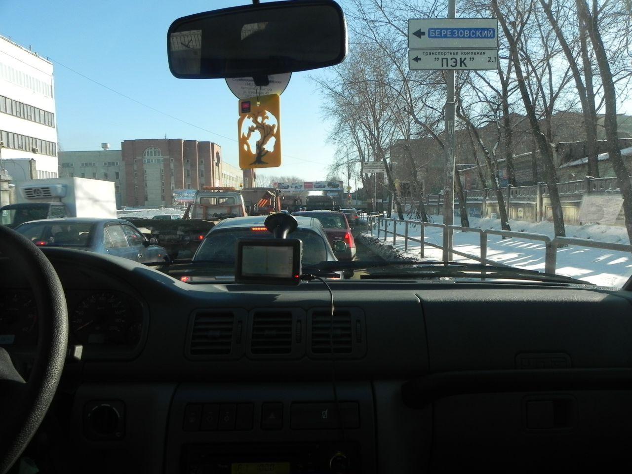 Екатеринбург, обзор из кабины...