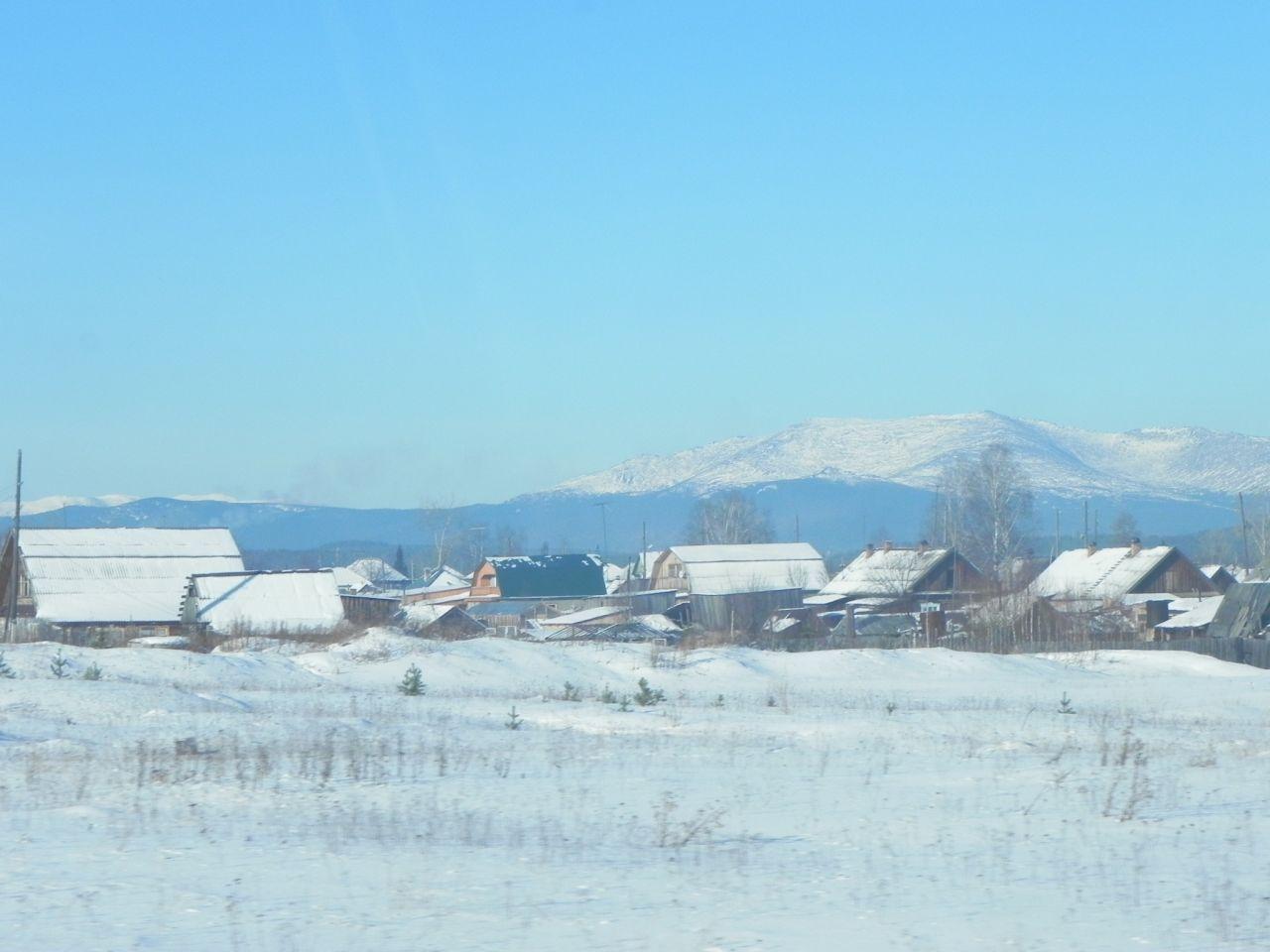 Уральская деревня, в районе Верхотурья, где 21-й век?