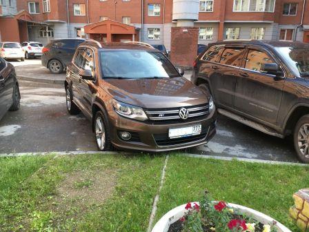Volkswagen Tiguan 2014 - отзыв владельца