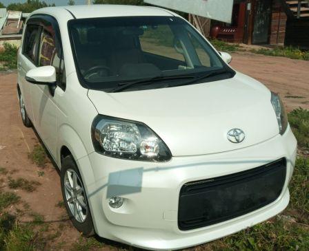 Toyota Porte 2013 - отзыв владельца