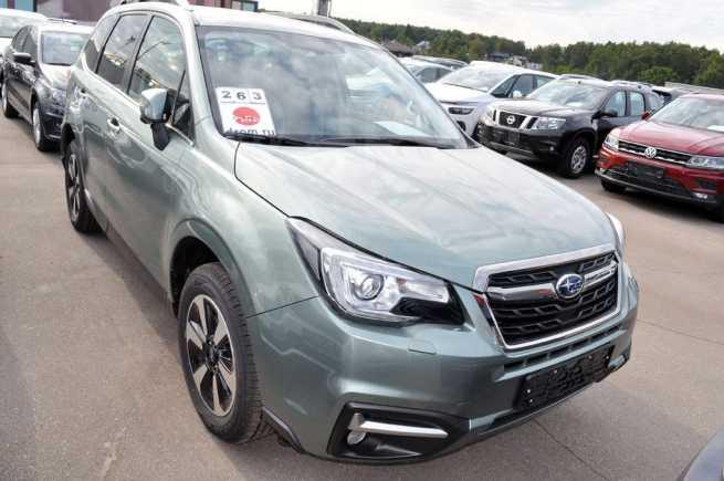 Subaru Forester, 2018 год, 2 259 900 руб.