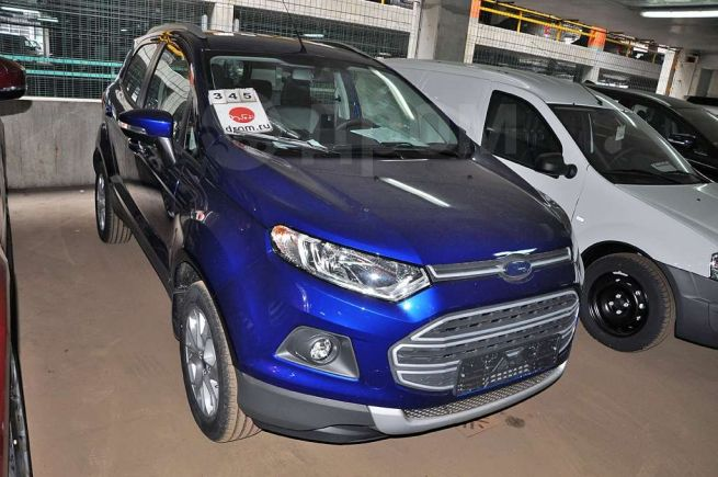 Ford EcoSport, 2018 год, 1 187 000 руб.