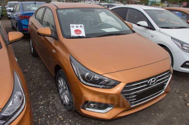 Hyundai Solaris, 2018 год, 945 900 руб.