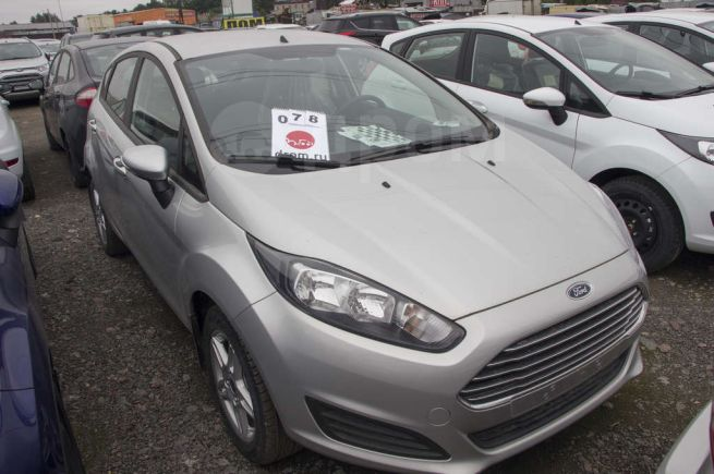Ford Fiesta, 2018 год, 891 000 руб.
