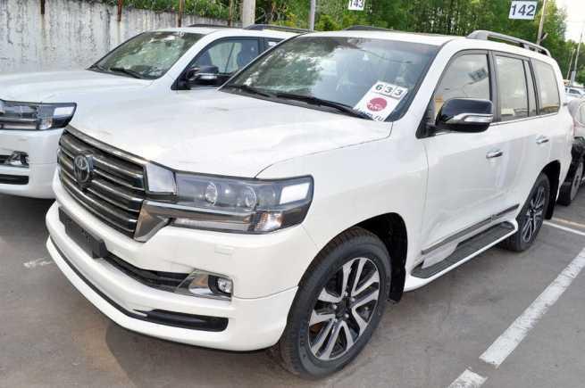 Toyota Land Cruiser, 2018 год, 5 757 000 руб.