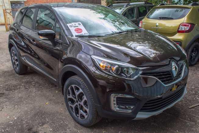 Renault Kaptur, 2018 год, 1 237 970 руб.