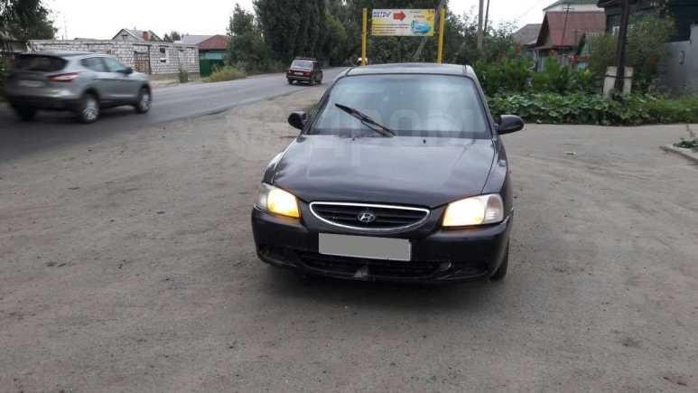 Hyundai Accent, 2003 год, 100 000 руб.