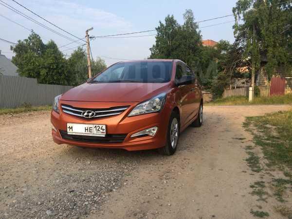 Hyundai Solaris, 2015 год, 640 000 руб.
