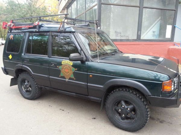 Land Rover Discovery, 1994 год, 180 000 руб.