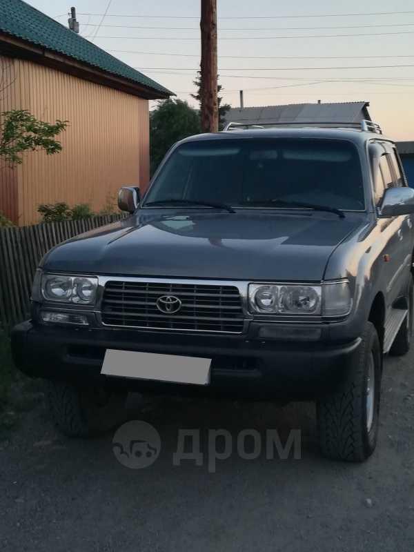 Toyota Land Cruiser, 1997 год, 700 000 руб.