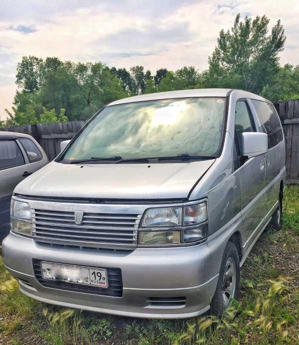 Nissan Elgrand, 2000 год, 414 000 руб.