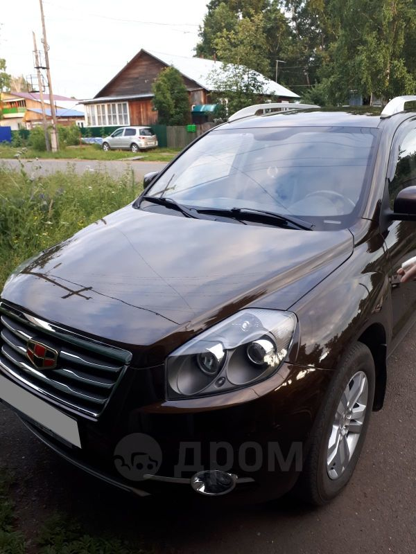 Geely Emgrand X7, 2016 год, 720 000 руб.