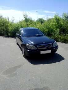 Mercedes-Benz S-класс, 2001 г., Омск