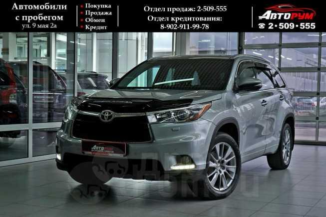 Toyota Highlander, 2014 год, 1 937 000 руб.