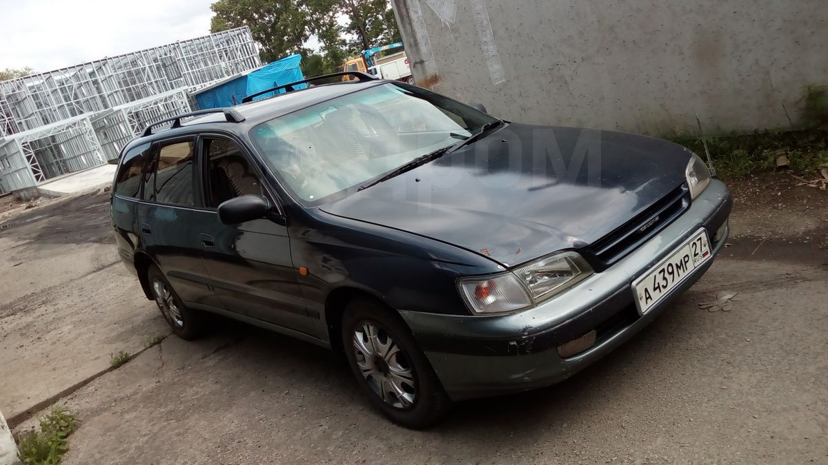 toyota caldina 2.0 at 1995 год
