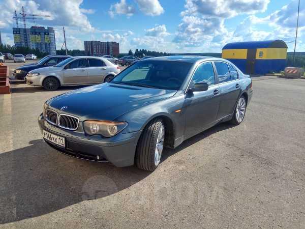 BMW 7-Series, 2002 год, 385 000 руб.
