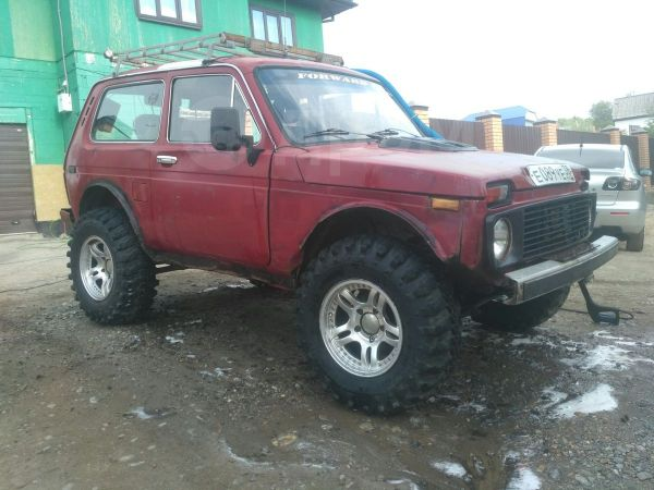 Лада 4x4 2121 Нива, 1994 год, 190 000 руб.