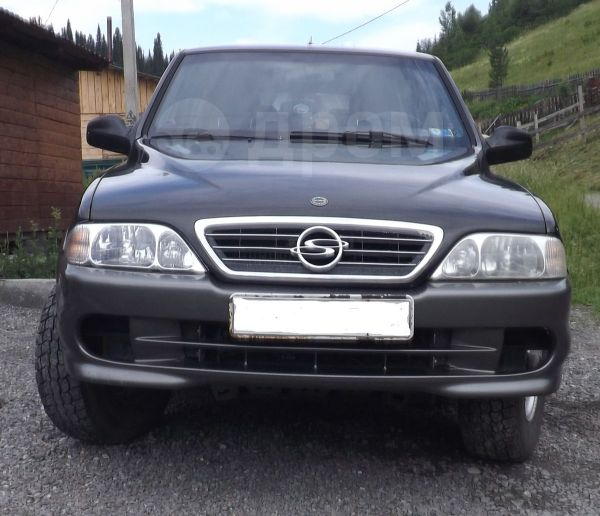 SsangYong Musso, 2002 год, 260 000 руб.