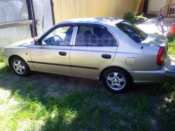 Hyundai Accent, 2002 год, 240 000 руб.