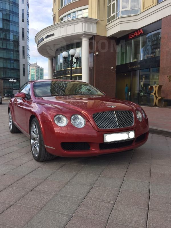 Bentley Continental GT, 2007 год, 3 900 000 руб.