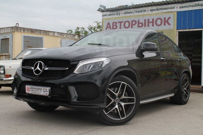 Mercedes-Benz GLE Coupe, 2017 год, 4 800 000 руб.