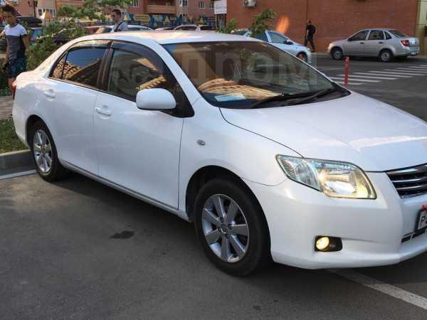 Toyota Corolla Axio, 2009 год, 439 000 руб.