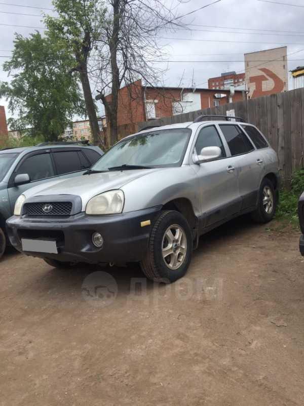 Hyundai Santa Fe, 2002 год, 170 000 руб.